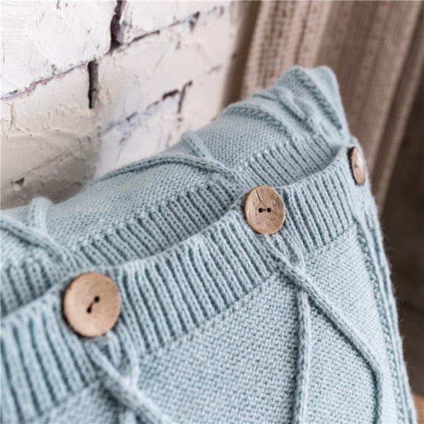 Knitted with Buttons