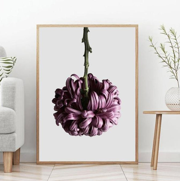 High definition Flower, canvas