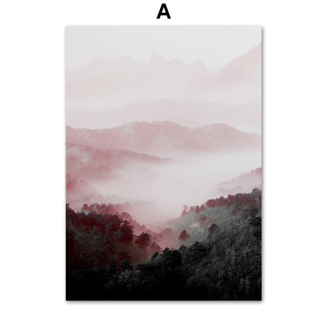 Pink Forest, canvas