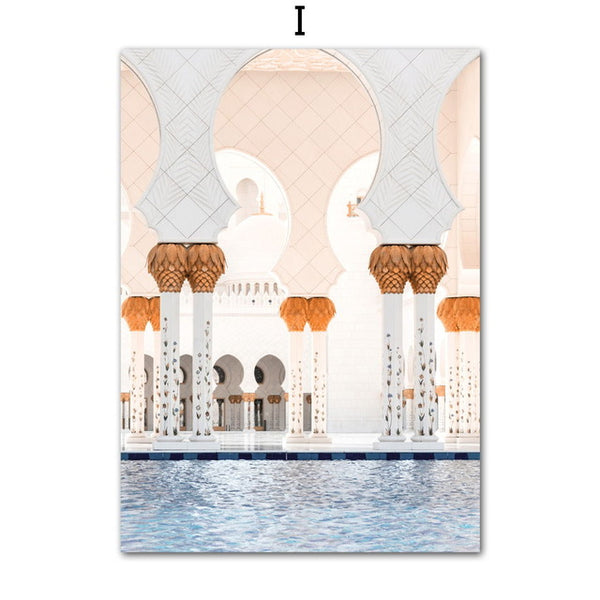 Taj Mahal, canvas