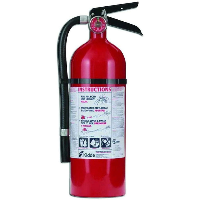 Pro Fire Extinguisher, ABC, 160CI, 4 lbs, 1 Pack