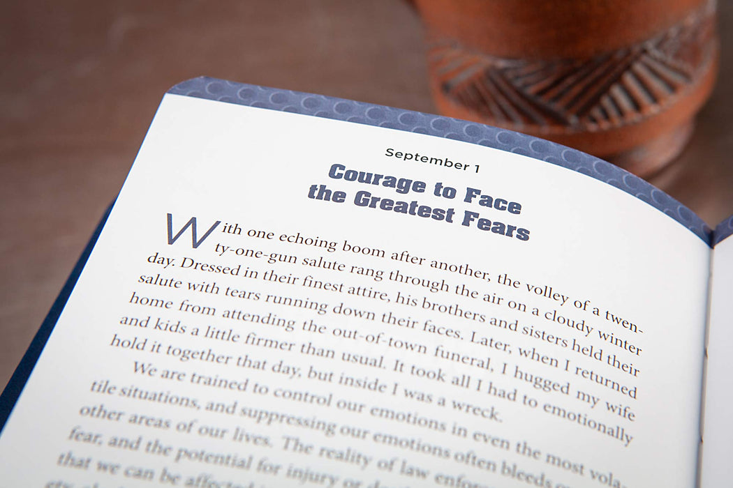 Behind the Badge:  365 Motivational Devotions for Police Officers