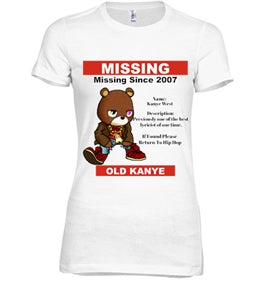 Bring Back Old Yeezy Fitted Tee - Black Empowerment Apparel, Black Power Apparel, Black Culture Apparel, Black History Apparel, ServeNSlayTees,
