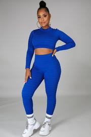 Let Me Lounge Pant Two Piece Set