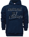 Natural By Nature Hoodie - Black Empowerment Apparel, Black Power Apparel, Black Culture Apparel, Black History Apparel, ServeNSlayTees,