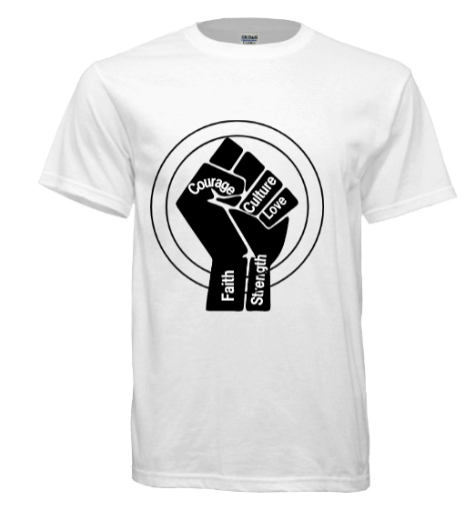 Raise Your Fist - Black Empowerment Apparel, Black Power Apparel, Black Culture Apparel, Black History Apparel, ServeNSlayTees,