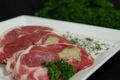Seasoned Lamb Steaks