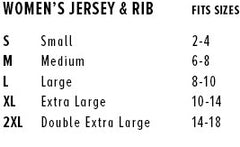 Women's Shirt Sizing