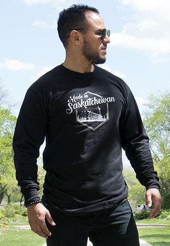 Made in Saskatchewan Long Sleeve Tee - Tall Grass Apparel