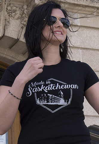 Made in Saskatchewan Women's Tee - Tall Grass Apparel