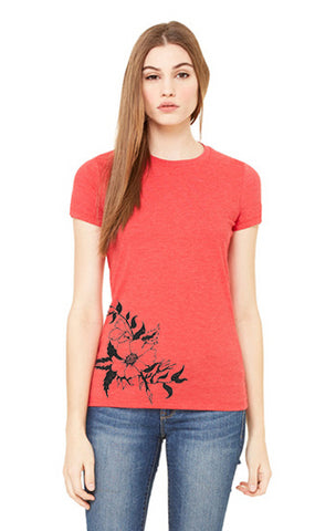 Roses Side Shirt - Tall Grass Apparel