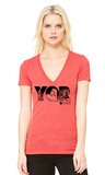 YQR Women's V-neck - Tall Grass Apparel