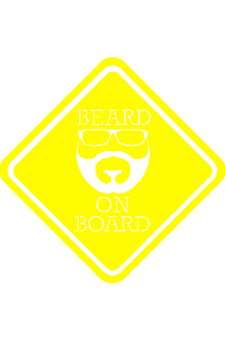 Beard on Board - Decal
