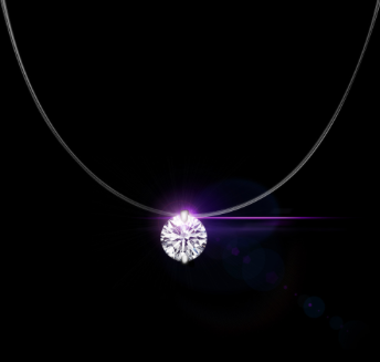Dazzling Water Drop Zircon Necklace
