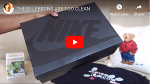 @Scoop208 Lebron & Custom Clobber Club Peak...