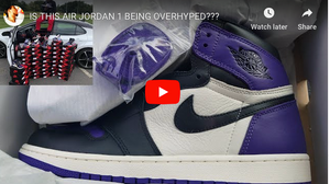 Nike Air Jordan 1 Court purple PickUP