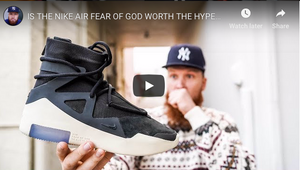 Nike Air Fear Of God In Hand Look 🔥