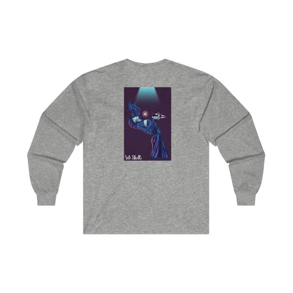 AJ1 Court Purple Long Sleeve Tee