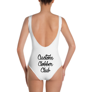 One-Piece Swimsuit Triple C From Custom Clobber Club Limited Ed. - customclobberclub,  - Streetwear,T-shirts,Hoodies,Sweaters,hypebeast