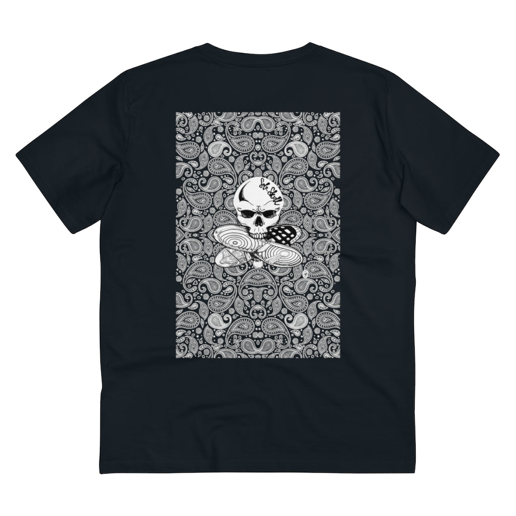 Sole skull Paisley Print T-Shirt - Organic Cotton
