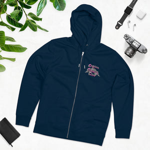 Custom Clobber Club Race-Day Zip-Up Hoodie
