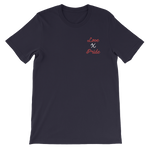 Love X Pride Embroidered T-Shirt - customclobberclub,  - Streetwear,T-shirts,Hoodies,Sweaters,hypebeast