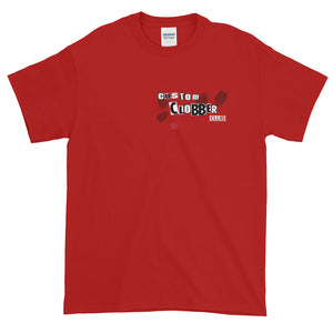 red T-Shirt Unisex - customclobberclub,  - T-shirts & Sweaters