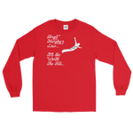 Leap Of Faith Long Sleeve T-Shirt (W) - customclobberclub,  - Streetwear,T-shirts,Hoodies,Sweaters,hypebeast