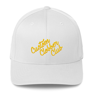 Classic Structured Twill Cap From Custom Clobber Club (Gold) - customclobberclub,  - Streetwear,T-shirts,Hoodies,Sweaters,hypebeast