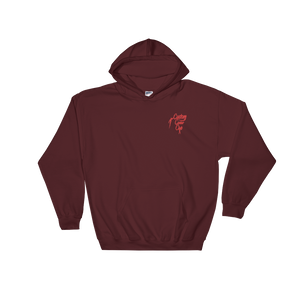 Classic logo embroidered Hooded Sweatshirt - customclobberclub,  - Streetwear,T-shirts,Hoodies,Sweaters,hypebeast