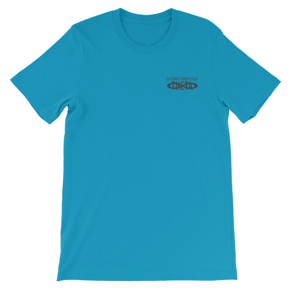 Embroidered Theta T-Shirt