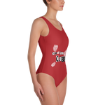 classic Red Swimsuit - customclobberclub,  - T-shirts & Sweaters