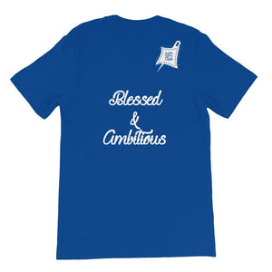 Custom Clobber Club Classic Blessed Short-Sleeve Unisex T-Shirt - customclobberclub,  - Streetwear,T-shirts,Hoodies,Sweaters,hypebeast