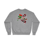 Roses R Red Jordan 1 Champion Sweatshirt
