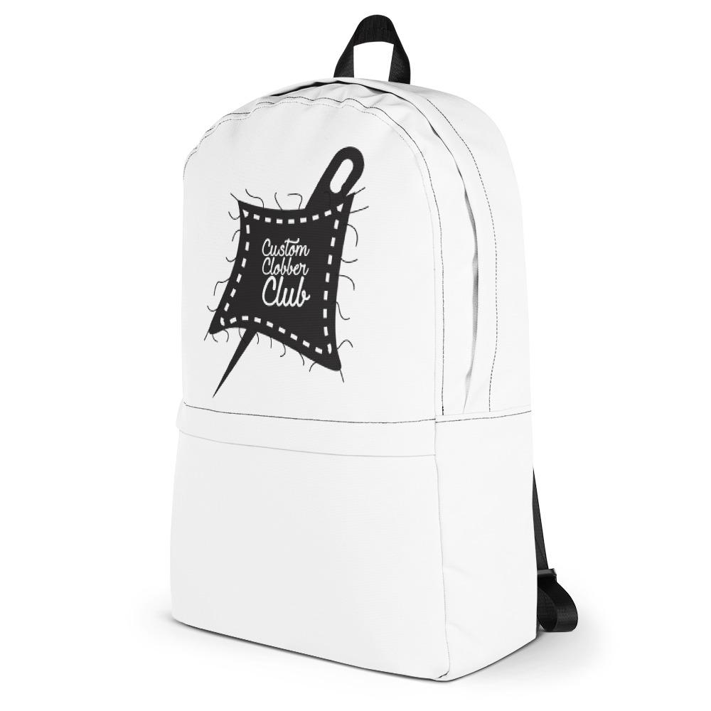 Custom Clobber Club Classic Unisex Backpack - customclobberclub,  - Streetwear,T-shirts,Hoodies,Sweaters,hypebeast