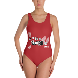 Fashion Killer One-Piece Swimsuit - customclobberclub,  - T-shirts & Sweaters