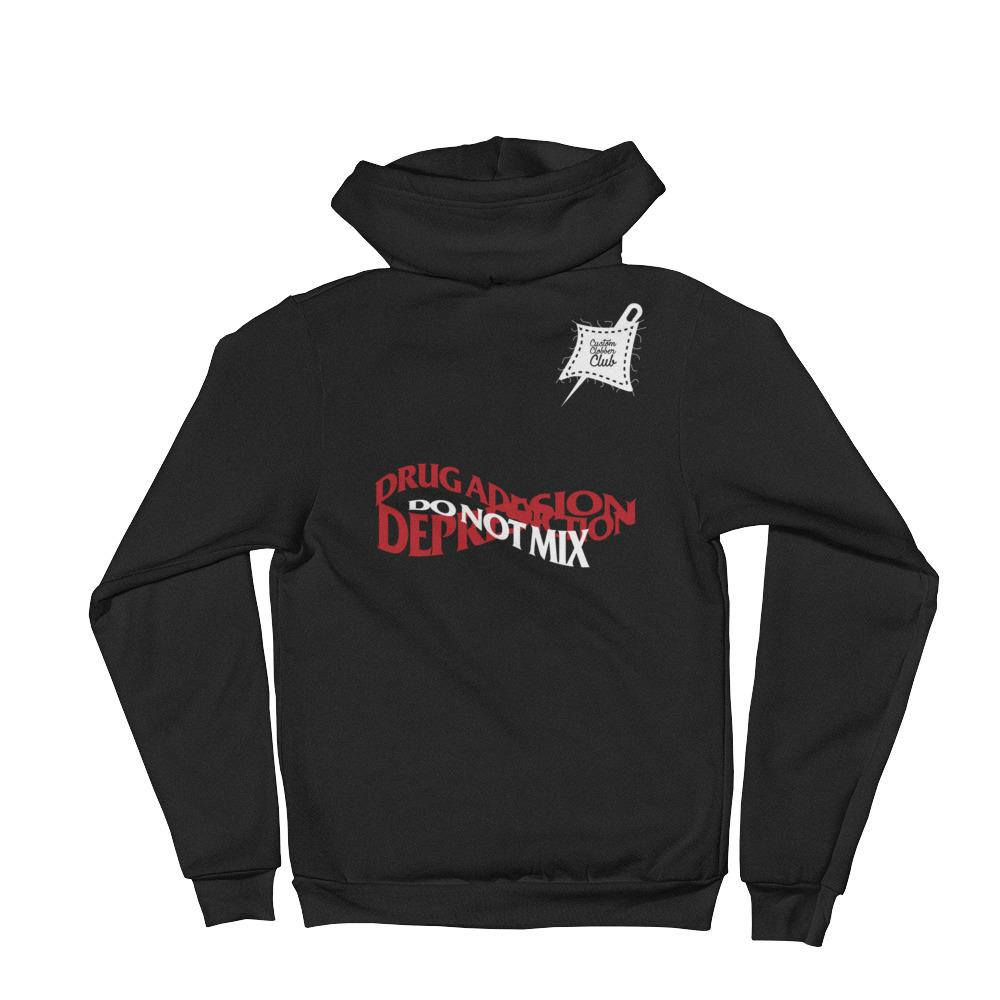 Depression awareness Hoodie sweater - customclobberclub,  - T-shirts & Sweaters