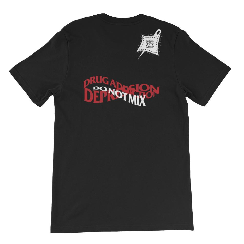 Depression Awareness T-Shirt - customclobberclub