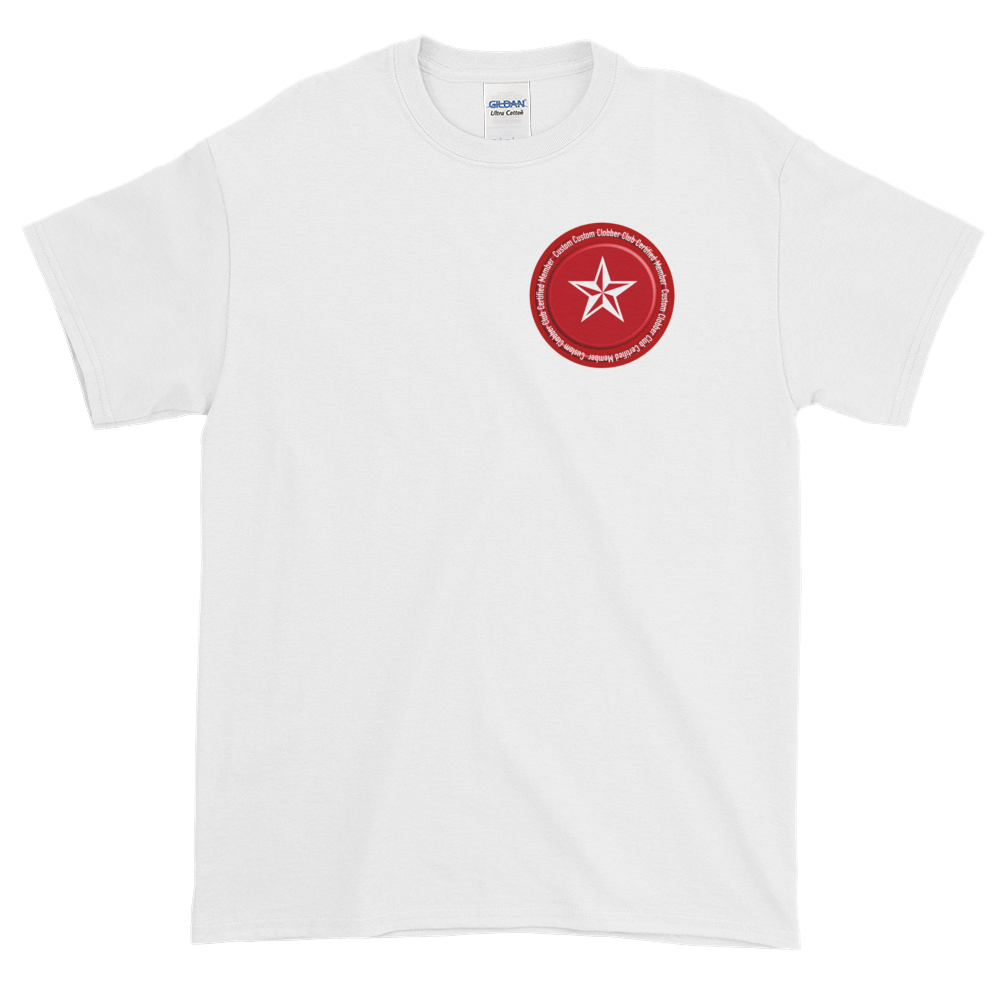 Certified T-Shirt From Custom Clobber Club - customclobberclub,  - Streetwear,T-shirts,Hoodies,Sweaters,hypebeast