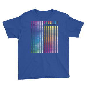 childrens Rainbow Multi coloured T-Shirt (B) - customclobberclub,  - T-shirts & Sweaters