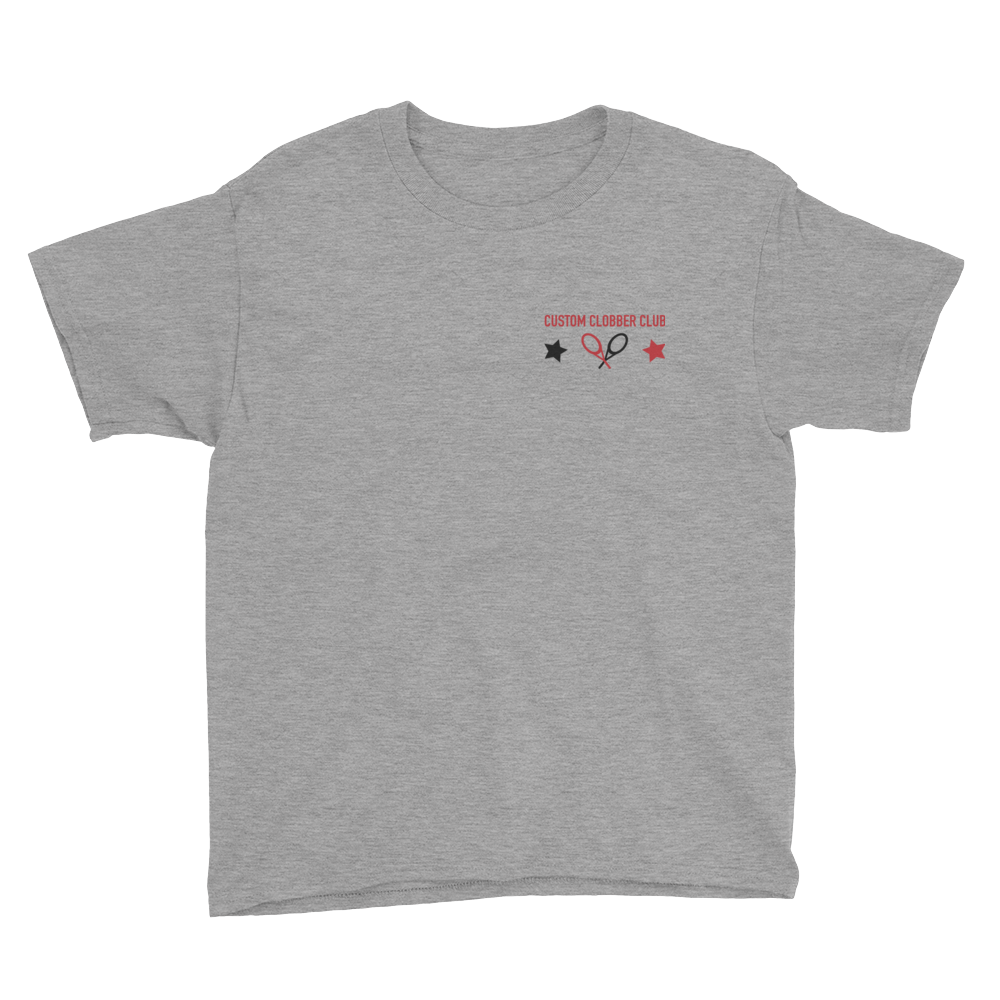 Kids Tennis T-Shirt From Custom Clobber Club (set 1) - customclobberclub,  - Streetwear,T-shirts,Hoodies,Sweaters,hypebeast