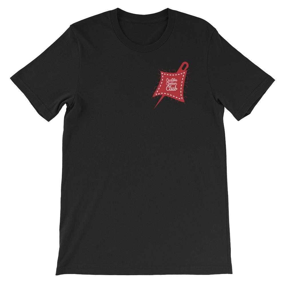 Custom Clobber Club Icon Short-Sleeve Unisex T-Shirt - customclobberclub,  - Streetwear,T-shirts,Hoodies,Sweaters,hypebeast