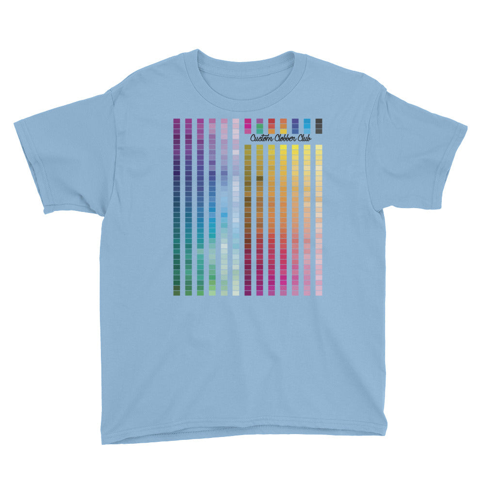 kids Rainbow Multi coloured Unisex T-Shirt (B) - customclobberclub,  - T-shirts & Sweaters