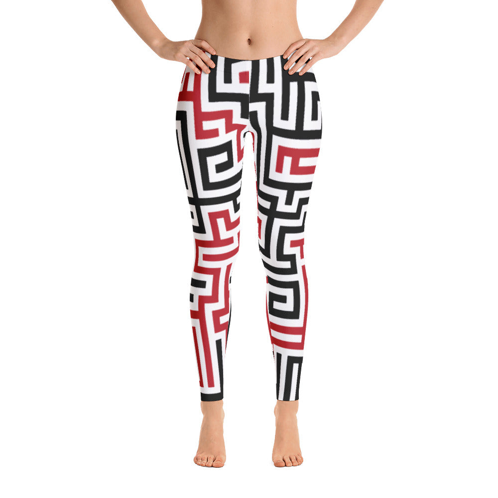 geo Leggings - customclobberclub,  - T-shirts & Sweaters