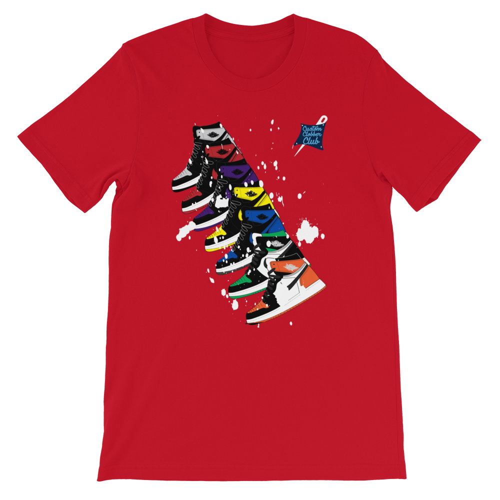 nike air jordan 1 bred t-shirt