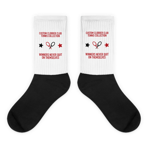 Tennis Socks From Custom Clobber Club (Set 1) - customclobberclub,  - Streetwear,T-shirts,Hoodies,Sweaters,hypebeast