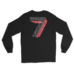 7 Sins Long Sleeve T-Shirt (WR) - customclobberclub,  - Streetwear,T-shirts,Hoodies,Sweaters,hypebeast