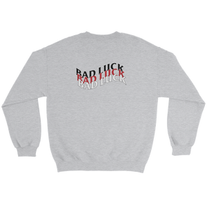 Bad Luck Sweatshirt - customclobberclub,  - Streetwear,T-shirts,Hoodies,Sweaters,hypebeast