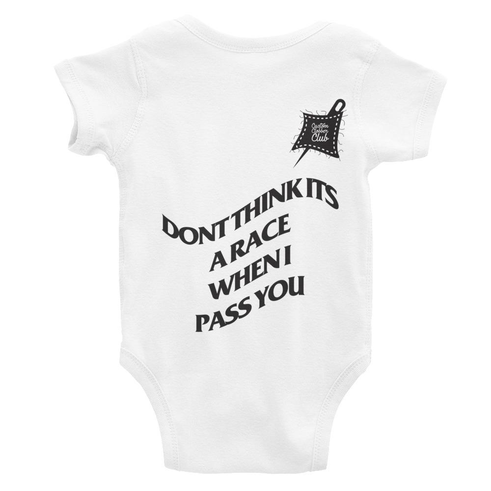 Custom Clobber Club Race Limited Ed. Infant Bodysuit - customclobberclub,  - Streetwear,T-shirts,Hoodies,Sweaters,hypebeast