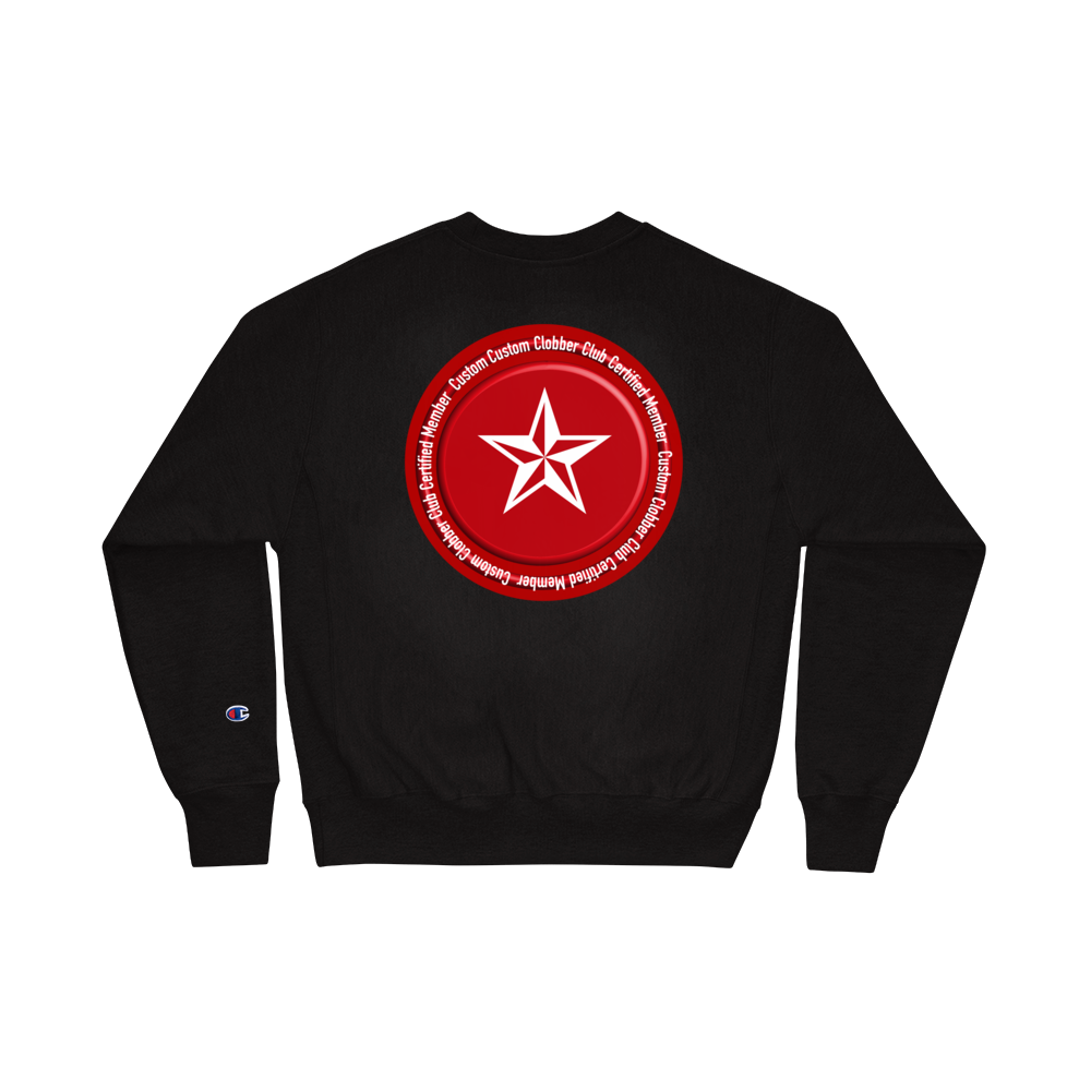 Certified Champion Sweatshirt - customclobberclub,  - Streetwear,T-shirts,Hoodies,Sweaters,hypebeast